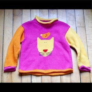 Mulberribush Cat Sweater